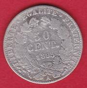 France 50 Centimes Cérès 1895 A - Frankreich