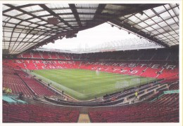 Postkaart - Uitgifte 19 Augustus 2015 - 50 Jaar Voetbal International - Old Trafford - Manchester United - Ongebruikt - Voetbal
