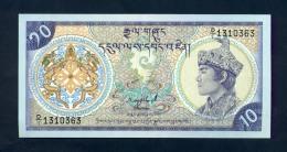 Bhutan 10 Ngultrum  1986 - FDS - Bhutan