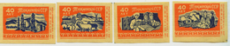MATCHBOX LABELS RUSSIA CCCP URSS 1960's 40 YEARS ANNIVERSARY REPUBLIC OF TURKMENISTAN - Old Paper