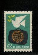 423671776 ARGENTINIE DB 1967 POSTFRIS MINTNEVER HINGED POSTFRIS NEUF YVERT 794 - Argentinien