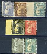 Nouvelle Caledonie Tasse 1906 Serie N. 16-23 (-21) MH Cat. € 10 - Postage Due