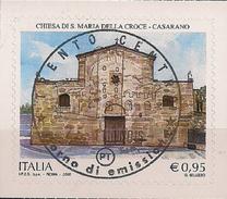 2016 .11.25 Italien Mi.  Used Chiesa Di Santa Maria Della Croce In Casarano - 6. 1946-.. Republik