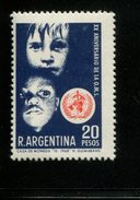 423677144 ARGENTINIE SCOTT 856 1968 POSTFRIS MINTNEVER HINGED POSTFRIS NEUF CHILDREN AND WHO EMBLEM - Unused Stamps