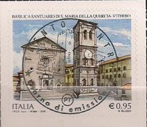 2016 .11.25 Italien Mi.  Used Santuario Di Santa Maria Della Quercia In Viterbo - 6. 1946-.. Republik