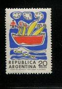 423677701 ARGENTINIE DB 1968 POSTFRIS MINTNEVER HINGED POSTFRIS NEUF YVERT 819 - Unused Stamps