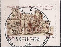 2016 .11.30  Italien Mi.  Used Accademia Di Francia In Roma - 6. 1946-.. Republik