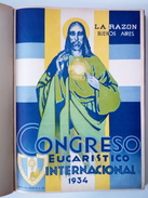 Congresso Eucaristico Internacional. Argentina. Buenos Aires 1934. (ver Fotos / See Photos). - History & Arts