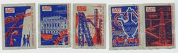 MATCHBOX LABELS RUSSIA CCCP URSS 1960's ACHIEVEMENTS IN AZERBAJIAN REPUBLIK - Old Paper
