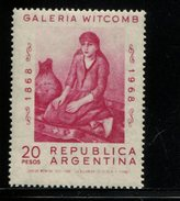 423684224 ARGENTINIE DB 1968 POSTFRIS MINTNEVER HINGED POSTFRIS NEUF YVERT 832 - Unused Stamps