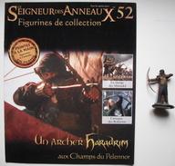 Figurine Le Seigneur Des Anneaux N°52 / Un Archer Haradrim Aux Champs Du Pelennor - Lord Of The Rings