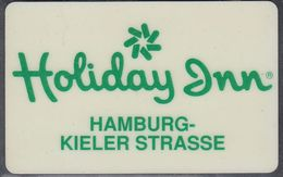 GERMANY Hotelkarte - Key-card  - Holiday Inn Hamburg - Hotelkarten