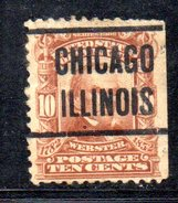 XP1624 - STATI UNITI USA , Precancelled Senza Gomma CHICAGO - United States