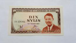 GUINEA 10 SYLIS 1971 - Guinea