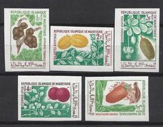 Mauritanie N° 241 à 245 ** Non Dentelé, Fruits - Mauritanie (1960-...)