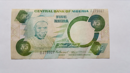 NIGERIA 5 NAIRA 1979-1984 - Nigeria