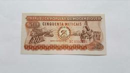 MOZAMBICO 50 METICAIS 1980 - Mozambique
