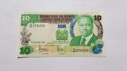 KENYA 10 SHILINGI KUMI 1982 - Kenya