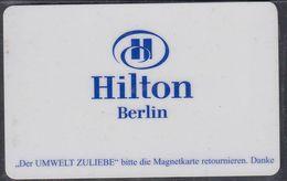GERMANY Hotelkarte - Key-card  - Hotel Hilton - Berlin - Hotelkarten
