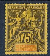 Nouvelle Caledonie 1892 N. 52 C. 75 MH Cat. € 50 - Nuova Caledonia