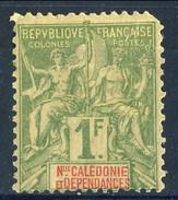 Nouvelle Caledonie 1892 N. 53 F. 1 MH Cat. € 55 Angolo Corto - Nuova Caledonia