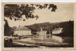 88  MONTHUREUX Sur SAONE        DROITEVAL   La Colonie De Vacances - Monthureux Sur Saone