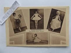 Ursula Schmidt, Die Beliebte Kleine Tänzerin, Mädchen, Ballett, Greiz, 1931 - Danse