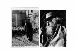 Lot De 2 CPSM: Vieux Berger Des Baux (troupeau De Moutons) - Belles Images De Provence - Provence-Alpes-Côte D'Azur