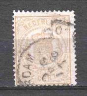 Netherlands 1869 NVPH 17 Canceled (1) - Period 1852-1890 (Willem III)