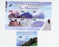 Mozambique 2002-Année Internationale De La Montagne-Alpinisme-YT 1714/19+B47***MNH