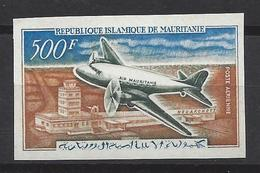 Mauritanie N° 63 ** Non Dentelé, Poste Aérienne - Mauritania (1960-...)