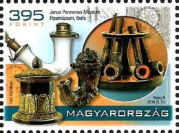 Hungary - 2016 - Treasures Of Hungarian Museums - Pipe Museum, Ibafa - Mint Stamp - Nuovi