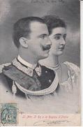 Ll. Mm. Il Re E La Regina D'ITALIA  PRIX FIXE - Case Reali