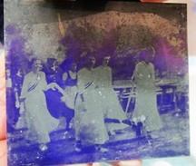 Plaques De Zinc Rares Photos Archives Pompiers Inauguration Drapeau Moosch 68 Ranspach 68 Genealogie - Photographie