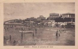 1922 Anzio Cartolina Riviera Bagni Carlo Tulli Roma CAGD45 - Roma