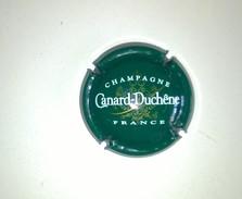 "Plaque De Muselet De CHAMPAGNE "" CANARD DUCHENE "" Vert - Canard Duchêne"