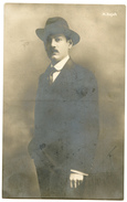 Milutin Bojic Famous Serbian Poet And Theatre Critic Old Photopostcard Unused Bb170115 - Schriftsteller