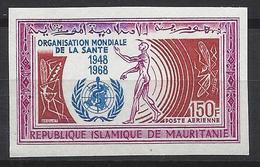 Mauritanie N° 77 ** Non Dentelé, Poste Aérienne - Mauritania (1960-...)