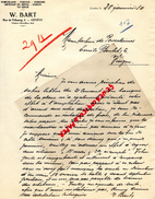 SUISSE - GENEVE - W. BART - 3 RUE DE FRIBOURG- PORCELAINE- FAIENCE- JOUETS- 1930 - Suisse