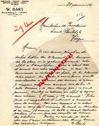 SUISSE - GENEVE - W. BART - 3 RUE DE FRIBOURG- PORCELAINE- FAIENCE- JOUETS- 1930 - Switzerland