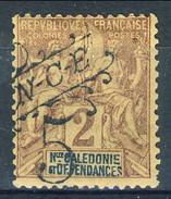 Nouvelle Caledonie 1900-1901 N. 54 C. 5 Su C. 2 MH Cat. € 30 - Nuova Caledonia