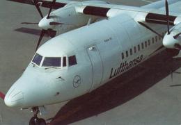 Avion Lufthansa Fokker 50 - 1946-....: Moderne