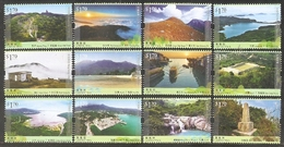 2016 HONG KONG MOUNTAIN STAMP 12V - Unused Stamps