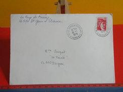 Marcophilie (Lettres) > Timbres Seuls Sur Lettres > 16 Saint Genis D'Hiersac,1978 - Marcophilie (Lettres)