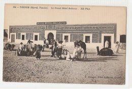 TUNISIA - TOZEUR - DJERID - GRAND HOTEL BELLEVUE - EDIT T. DISEGNI - 1910s (405) - Cartes Postales