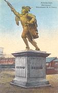 Amsterdam, 3x : Marinewerf, Standbeeld M.H.Tromp / Frederiksplein / Prins Hendrikkade Met St. Nicolaaskerk - Amsterdam