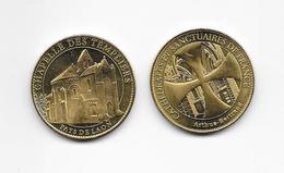 Médaille Chapelle Des Tempilers Pays De Laon  / Cathédrale Et Sanctuaires De France ARTHUS BERTRAND /33NAT - Arthus Bertrand