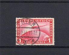 Deutsches Reich Flugpost Zeppelin 455 Gestempelt 1 RM   ( N  5979  ) - Gebraucht