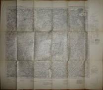 Karte Des Deutschen Reiches 1-cm-Karte Großblatt 37 Prenzlau-Pasewalk-Friedland - Ausgabe 1940 - Topographische Karten