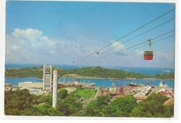 SINGAPORE - CABLE CARS -  EDIT S.W. - STAMPS - 1970s  ( 24 ) - Cartes Postales